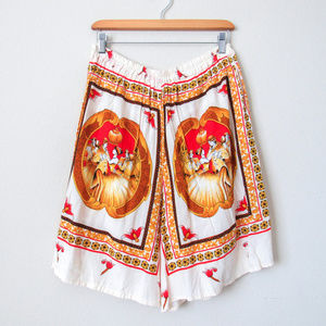 Vintage Shirts - RARE VINTAGE Mens Luxe Silky Baroque 2 Piece Set